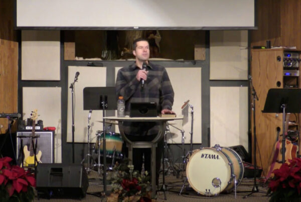 Jesus Was Born for our Mess | Jared Buchta